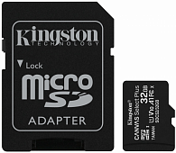 Карта пам'яті Kingston microSDHC 32GB Canvas Select Plus Class