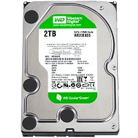 Жорсткий диск Western Digital Green 2TB SATA III